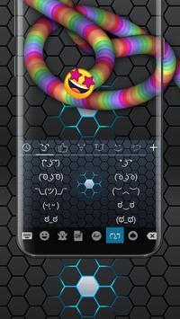 Rainbow Snake Keyboard apk screenshot