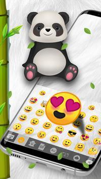 Panda Kawaii Keyboard apk screenshot