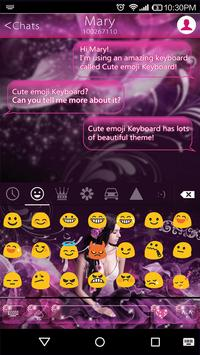 Fairy Dream Keyboard Theme apk screenshot