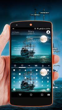 Pirate Ship Wallpaper for Emoji Keyboard apk screenshot