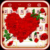 Rose Love - Emoji Keyboard icon