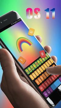 Rainbow Keyboard screenshot 1
