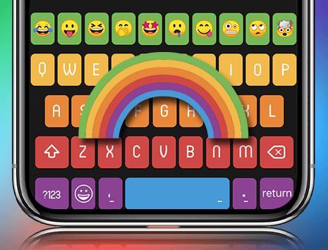 Rainbow Keyboard screenshot 4