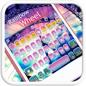 Rainbow Sky Emoji Keyboard icon
