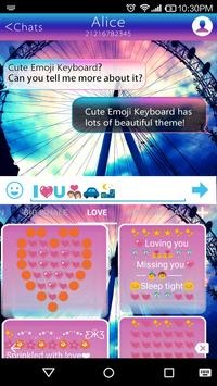 Rainbow Sky Emoji Keyboard screenshot 3