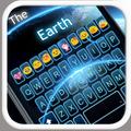 The Earth Emoji Keyboard Theme