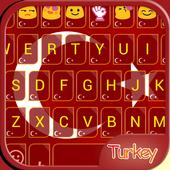 Turkey Emoji Keyboard Theme icon