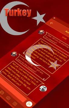 Turkey Emoji Keyboard Theme apk screenshot