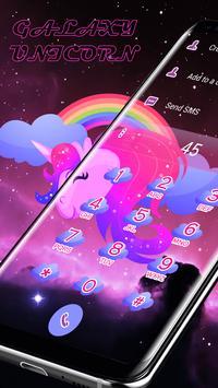 Galaxy Unicorn - Caller ID Skin apk screenshot