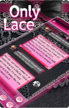 Only Lace Emoji Keyboard Theme apk screenshot