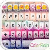 COLOR RAIN Emoji Keyboard Skin icon