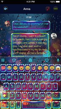 Luminous Emoji Keyboard Theme apk screenshot