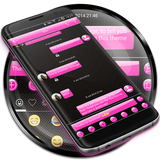 SMS Messages Gloss Pink