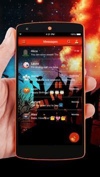 Happy Halloween Message Theme apk screenshot