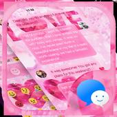 Love Messages Theme Art icon