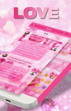 Love Messages Theme Art apk screenshot