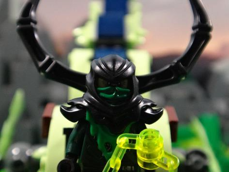 Evil Green Ninjago poster