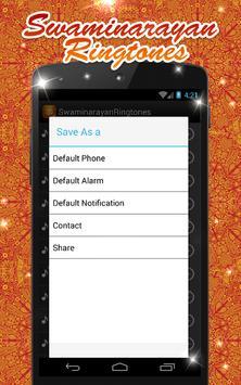Swaminarayan ringtones apk screenshot