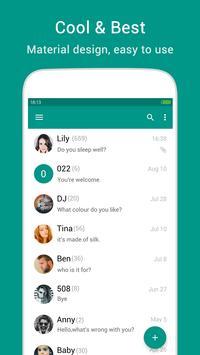 KK SMS - Cool & Best Messaging Cartaz