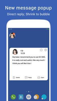 KK SMS - Cool & Best Messaging apk imagem de tela