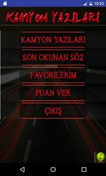 Kamyon Arkası Yazıları poster