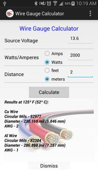 Wire gauge calculator apk download free tools app for android wire gauge calculator poster wire gauge calculator apk screenshot keyboard keysfo Image collections