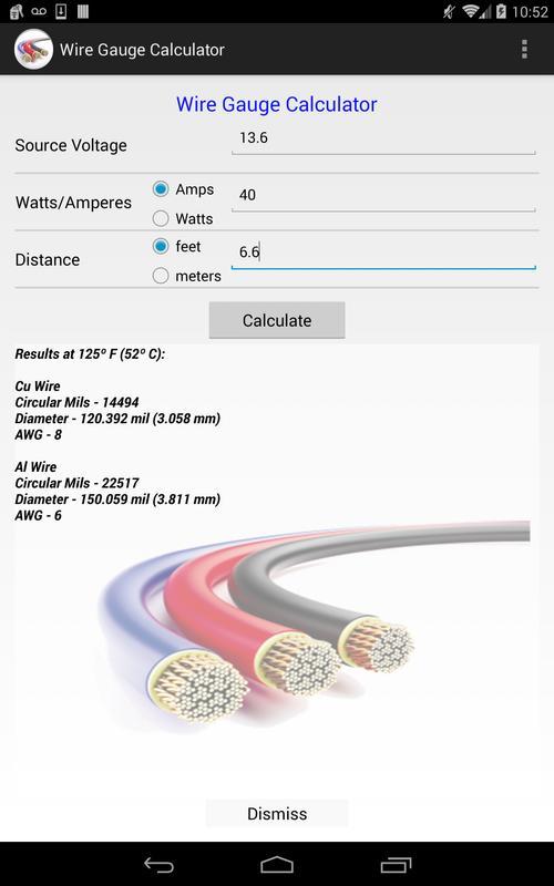 Wire gauge calculator apk wire gauge calculator apk greentooth Choice Image