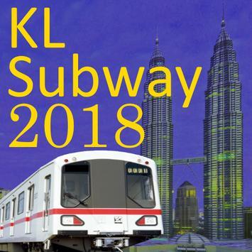 Kuala Lumpur (KL) MRT LRT Train Map 2018 screenshot 1