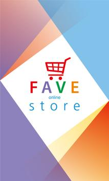 FAVE Online Store poster