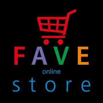 FAVE Online Store screenshot 1