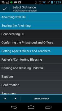 LDS Ordinances apk screenshot