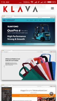 KLAVA - Jasa Pembuatan Website screenshot 3
