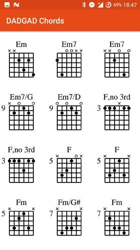 DADGAD Chords for Android - APK Download