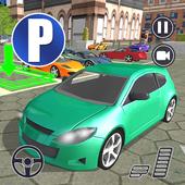 Realistic Auto Car parking Dr. Driving Sim 2019 icon