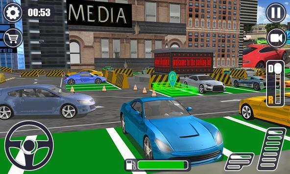 Realistic Auto Car parking Dr. Driving Sim 2019 screenshot 1
