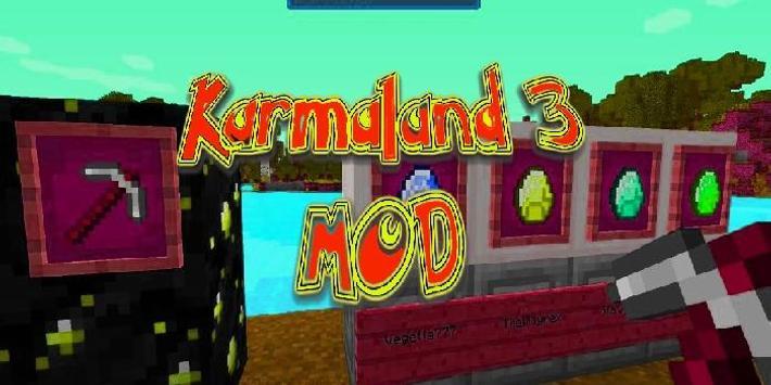 Karmaland 3 Mod Minecraft apk screenshot