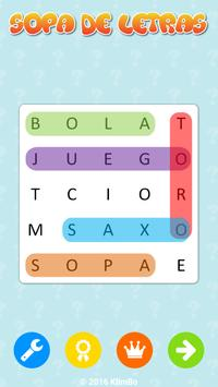 Word Search Games in Spanish poster