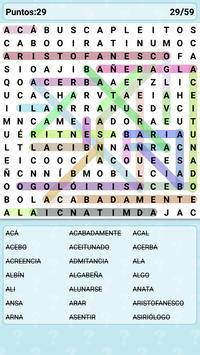 Word Search Games in Spanish apk screenshot