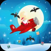 Flappy Tappy Santa Plane - Christmas Holiday Game icon
