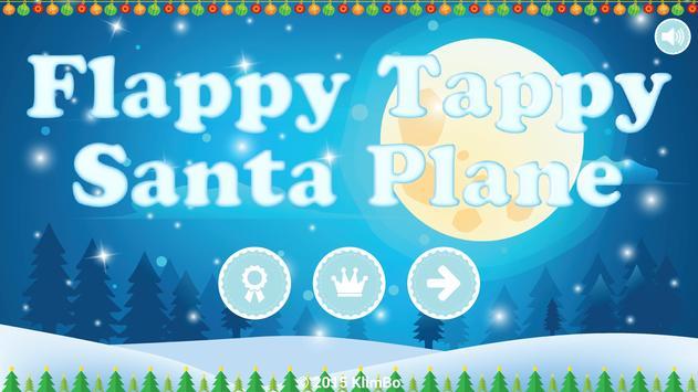 Flappy Tappy Santa Plane poster