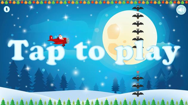 Flappy Tappy Santa Plane screenshot 11