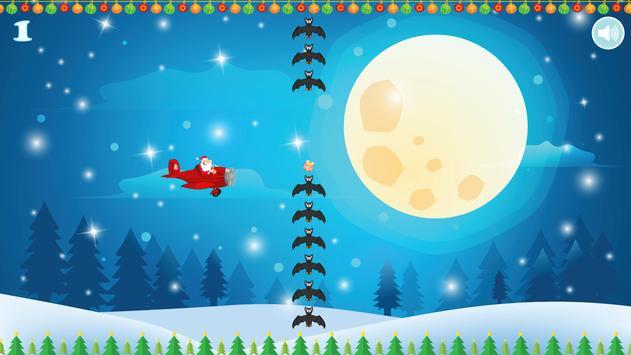 Flappy Tappy Santa Plane screenshot 13