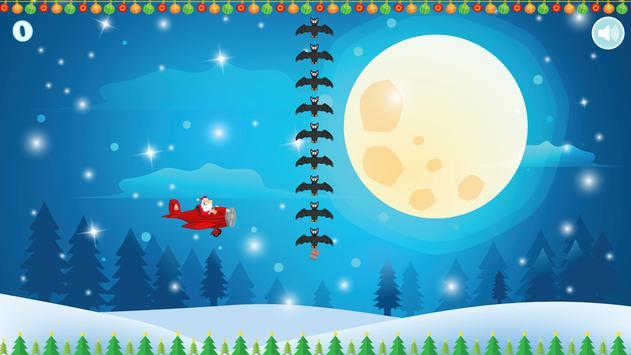 Flappy Tappy Santa Plane - Christmas Holiday Game apk screenshot