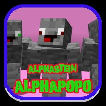 Alphastein ALPHAPOPO For Android APK Download - Skins fur minecraft alphastein