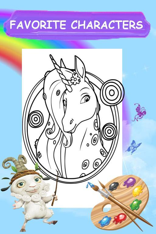 Mia And Color Me Coloring Book For Girl For Android Apk
