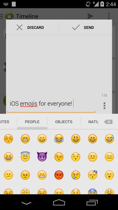 download ios emoji keyboard apk