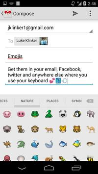 Sliding Emoji Keyboard - iOS screenshot 2