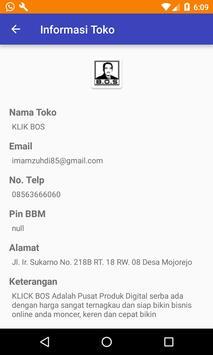 Klik Bos screenshot 1