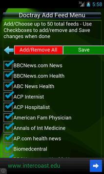 Doctray Medical Health RSS screenshot 3