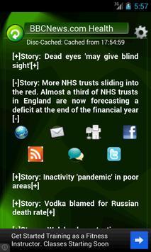Doctray Medical Health RSS screenshot 1